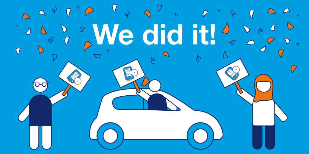 test Twitter Media - NewsFLASH: Today @DVLA & DVA announced that people with #diabetes can now use #FlashGM & #CGM tech to test when driving. Thank you to everyone who has campaigned over the last year to make this happen! Find out more: https://t.co/3NLwsBxqbJ https://t.co/wnibkq6SCu