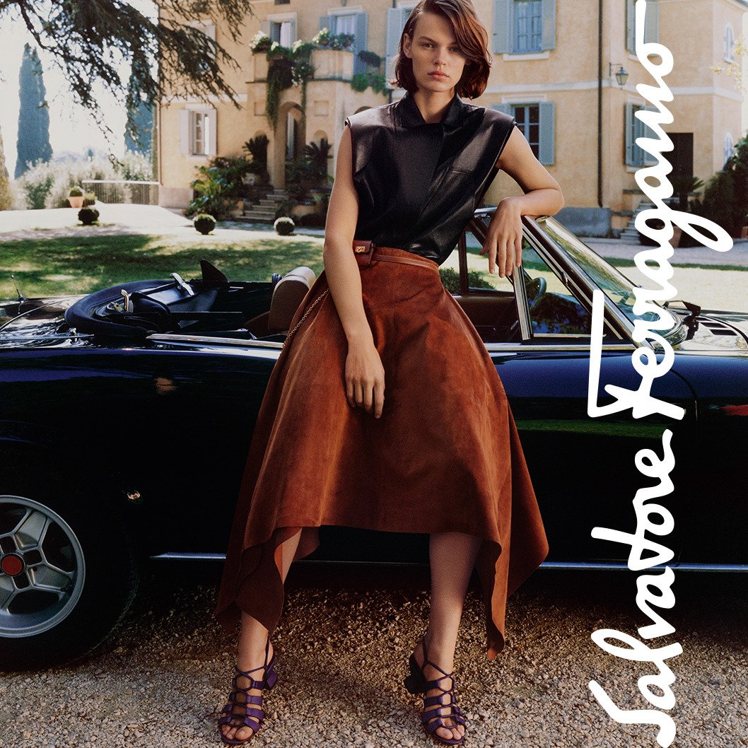 Fresh looks #FerragamoSS19 #Patchworkofcharacters https://t.co/5QgNLLzXtP 📸 @harleyweir https://t.co/CVqkos5TxT