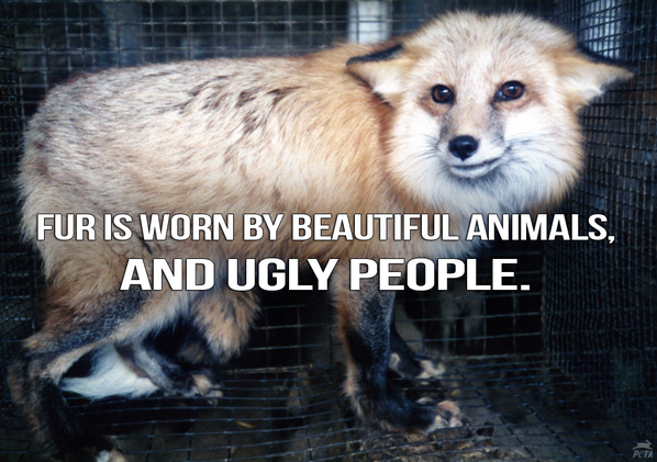 RT @PETAUK: A perfect message to share during London Fashion Week. RT if you know animals are #NotOurs2Wear! #LFW https://t.co/zRwoHhdcbi