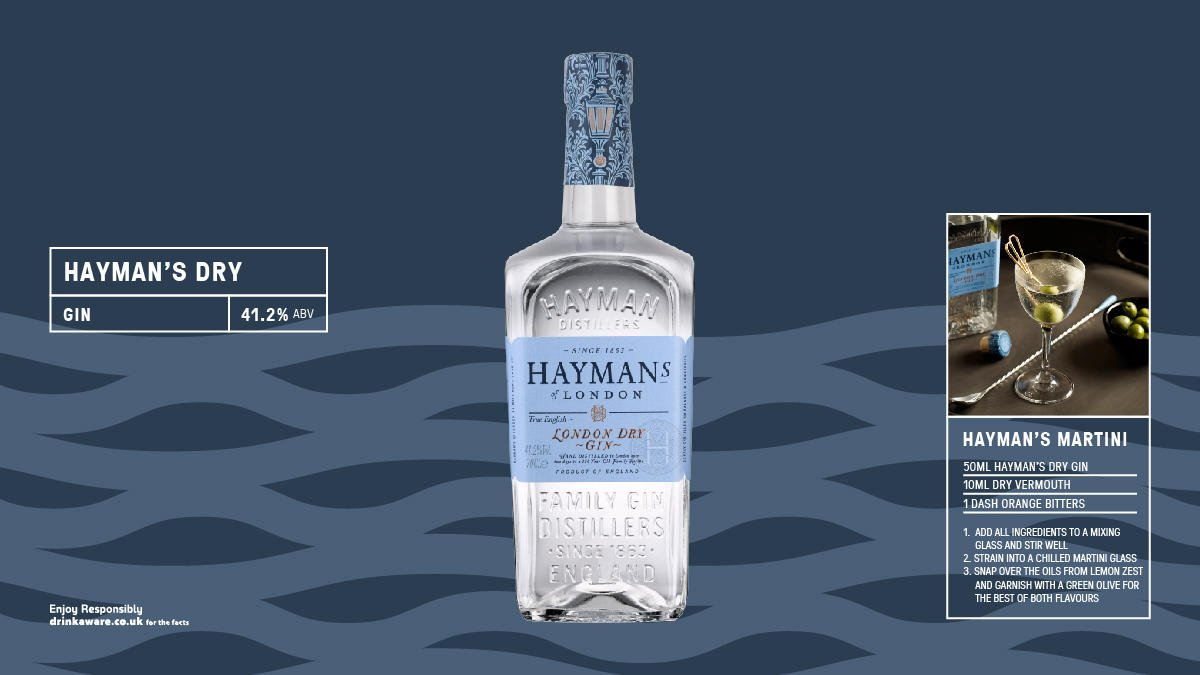 A traditional English gin in the truest sense, @haymansgin Dry boasts ten botanicals which are steeped for an entire day to let them work their magic. #spirit #gin https://t.co/CupMCjDEGI