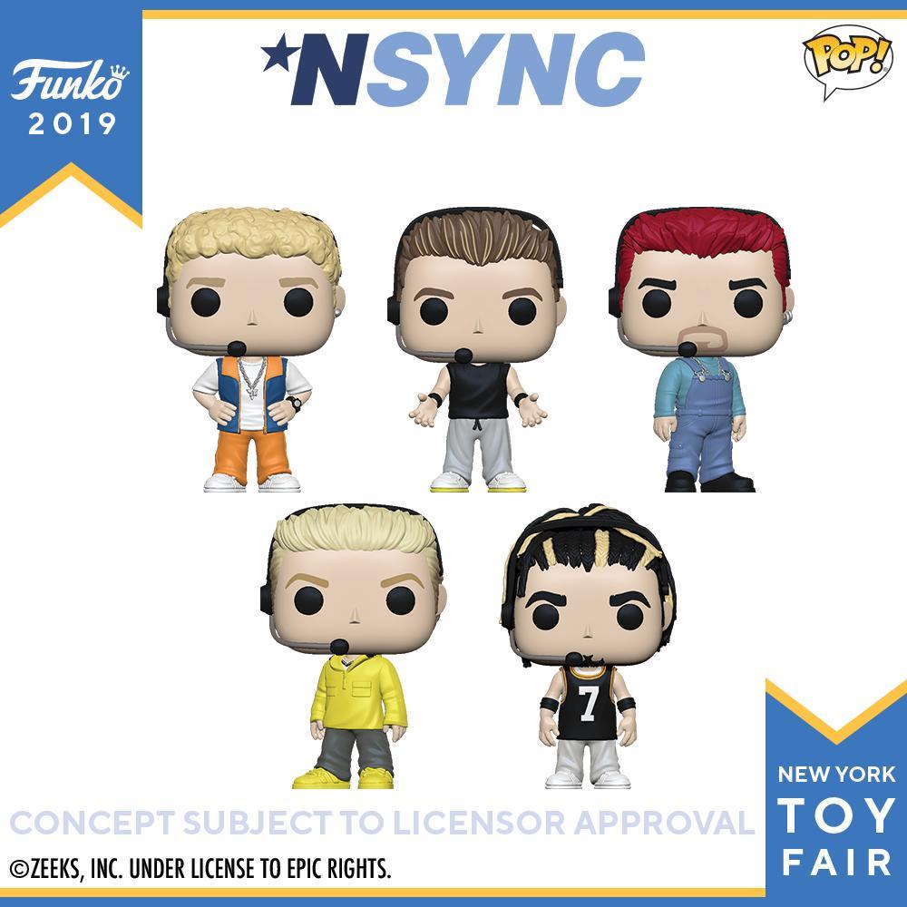 RT @OriginalFunko: Toy Fair New York Reveals: *NSYNC Pop! #FunkoTFNY @NSYNC  https://t.co/rt2vG5z7b7 https://t.co/at5RM8eMqr