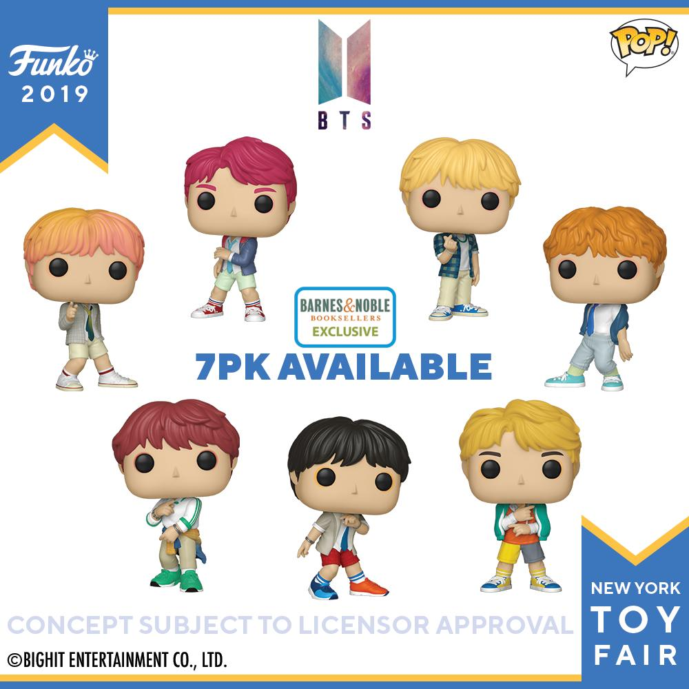 RT @OriginalFunko: Toy Fair New York Reveals: BTS Pop! #FunkoTFNY @BTS_twt  https://t.co/XMzrpEp2dG https://t.co/1Mx2e7smdp