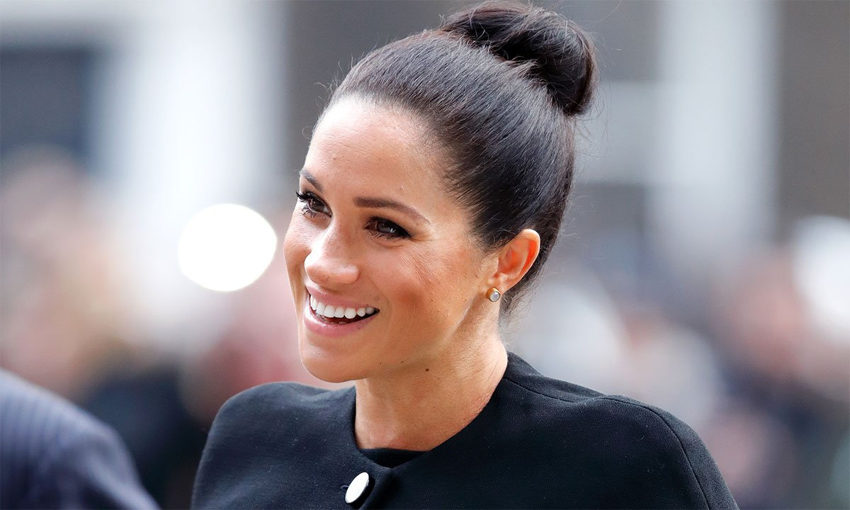 Victoria Beckham must have designed this dress with Meghan Markle in mind