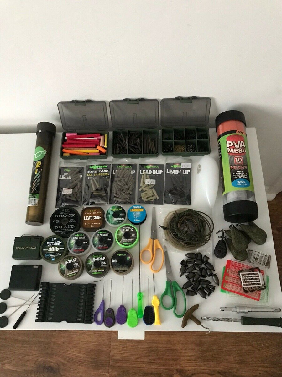 JOB LOT used <b>Carp</b> tackle bits https://t.co/vFbPcjfxAs #<b>Carp</b>fishing #auction #fishingta