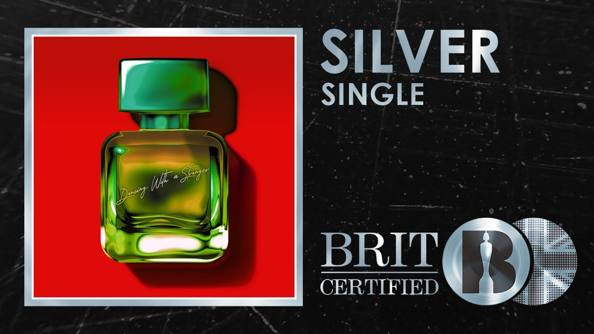 RT @BRITs: 💖 @samsmith and @Normani's stunning collab 'Dancing With A Stranger' is #BRITcertified Silver! 🇬🇧💿 https://t.co/n39q3fE8R6