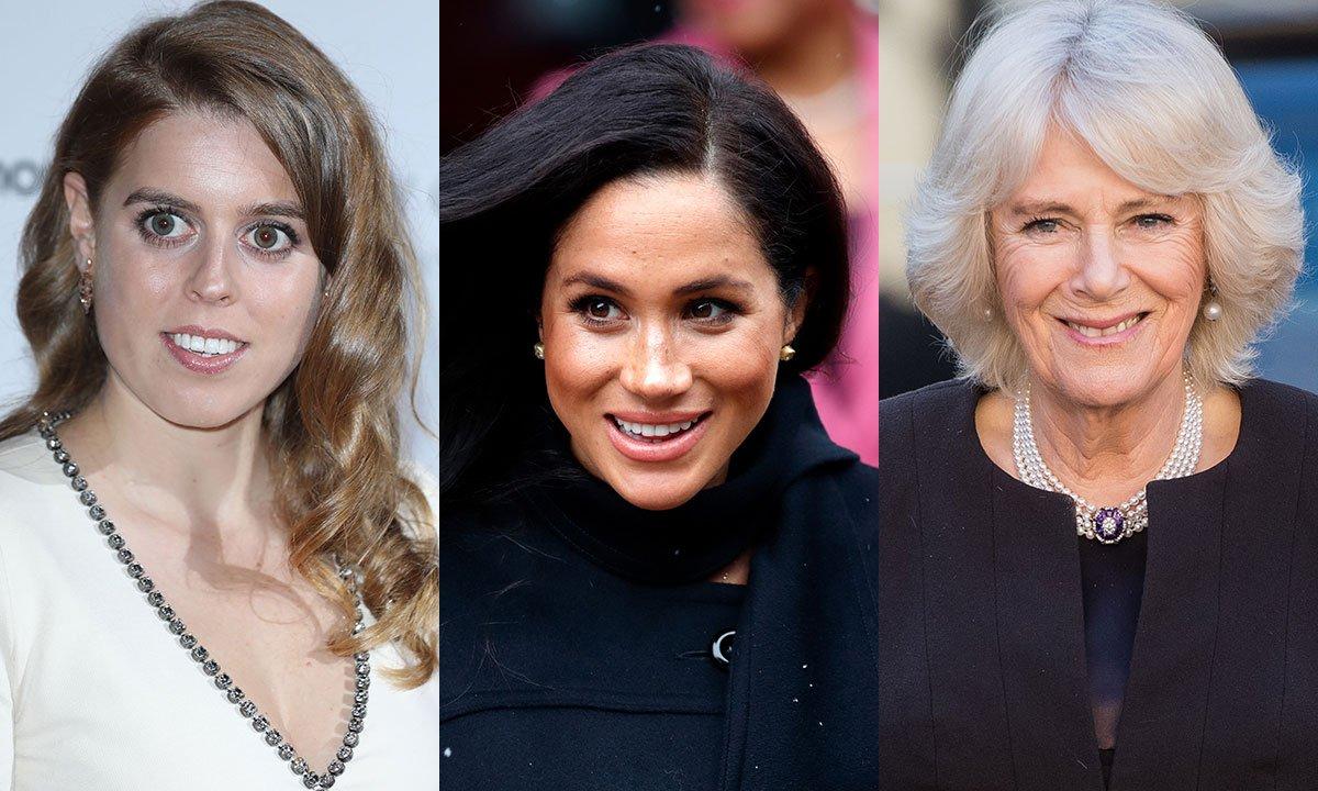 Meghan Markle, Camilla Parker-Bowles, & Princess Beatrice are loving this handbag brand