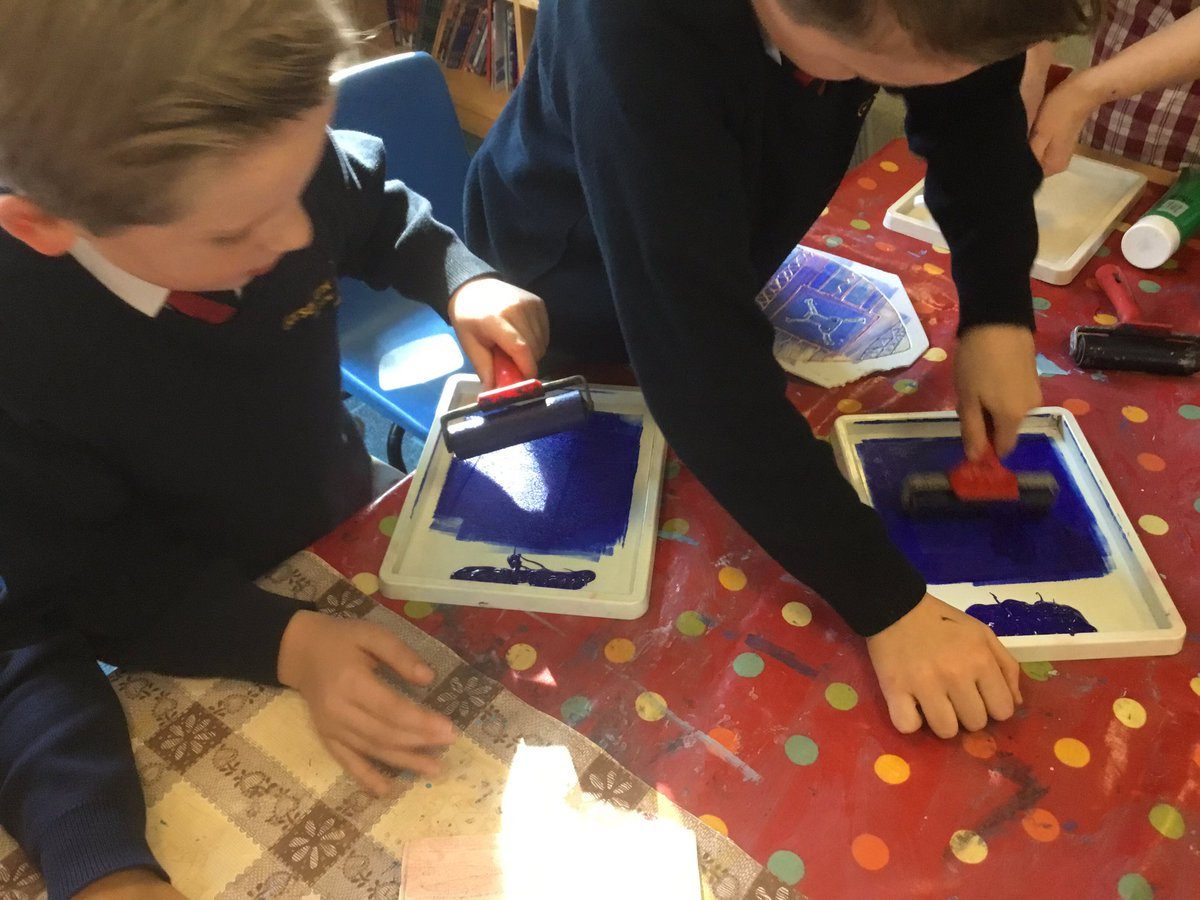 test Twitter Media - We're using printing ink and brayers to print our winter hats #gorseyart https://t.co/CbdF3oEshZ