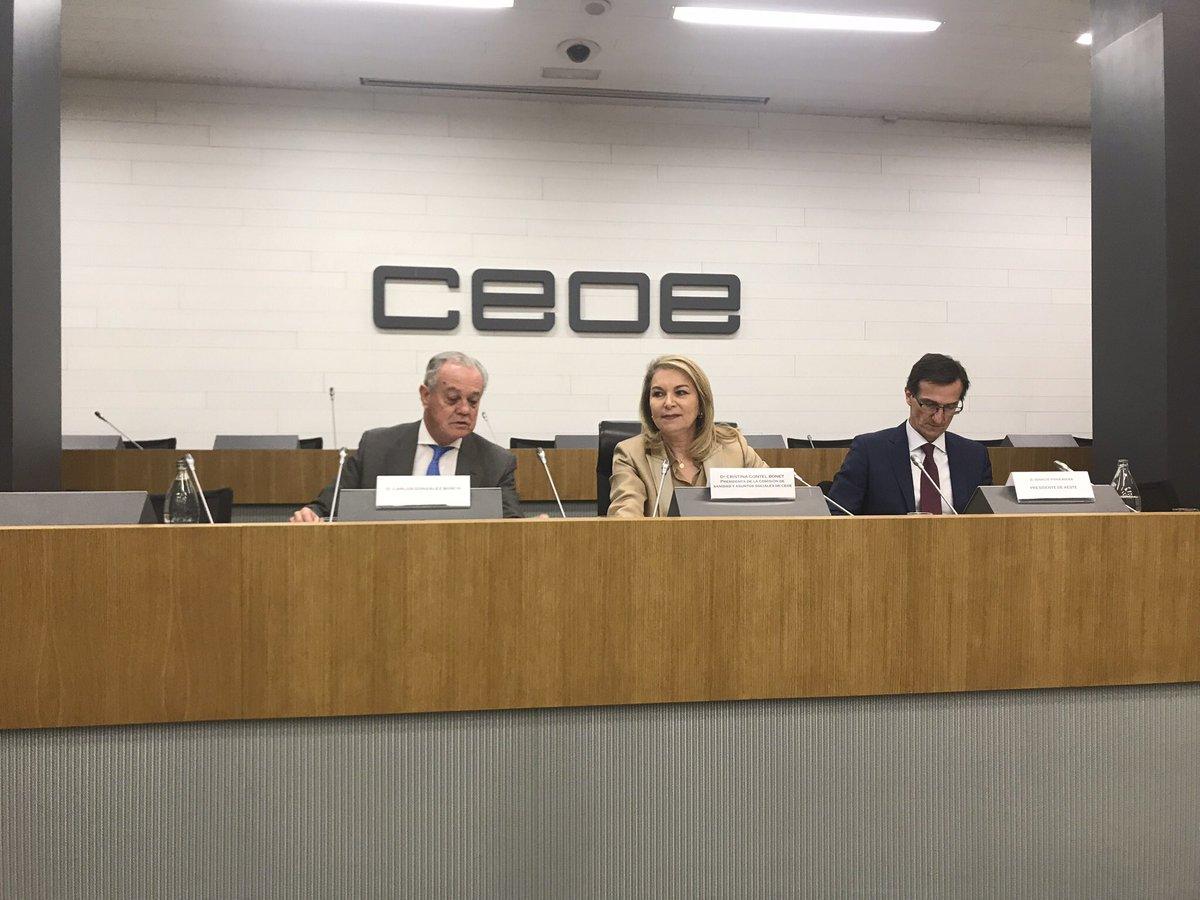 test Twitter Media - Nuestra felicitación a Cristina Contel, Presidenta de @ASPE_SPrivada y de la Comisión de Sanidad y Asuntos Sociales de @CEOE_ES por este primer acto presentando el Informe sobre #dependencia https://t.co/9KWhGqeI09
