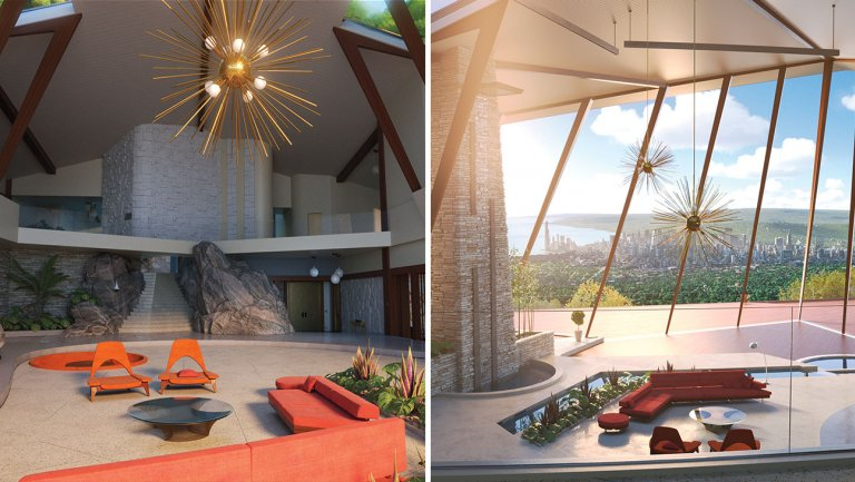 Incredibles2: How Palm Springs inspired the superhero family's swanky new house