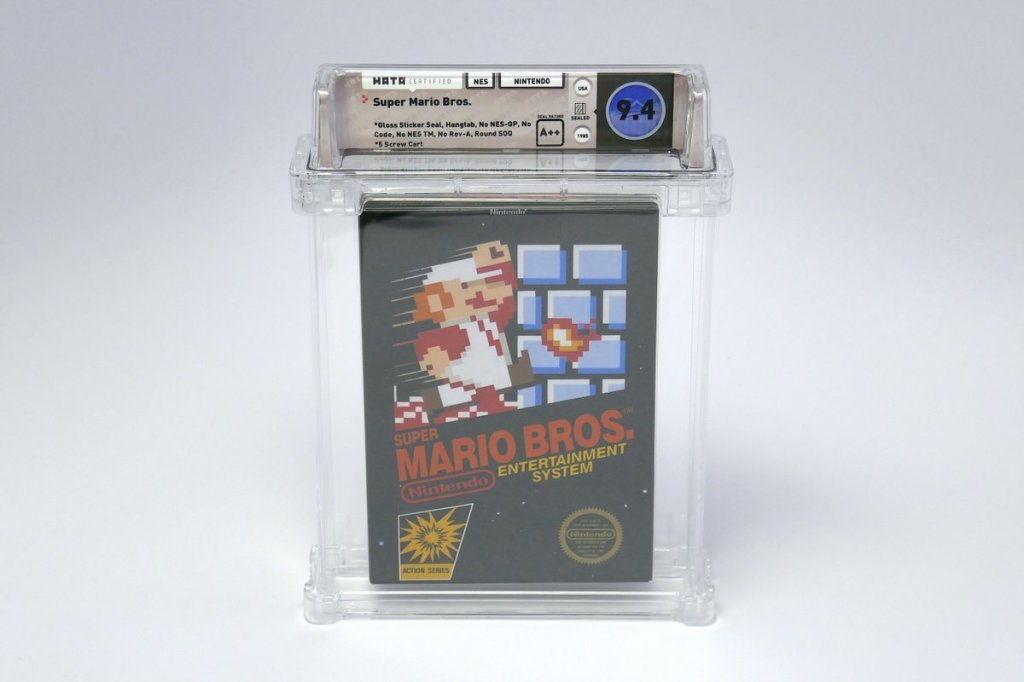 RT @thisis50: Sealed copy of Super Mario Bros. sells for over $100k at auction https://t.co/4vkRkDlnba https://t.co/cycEjdRZQQ