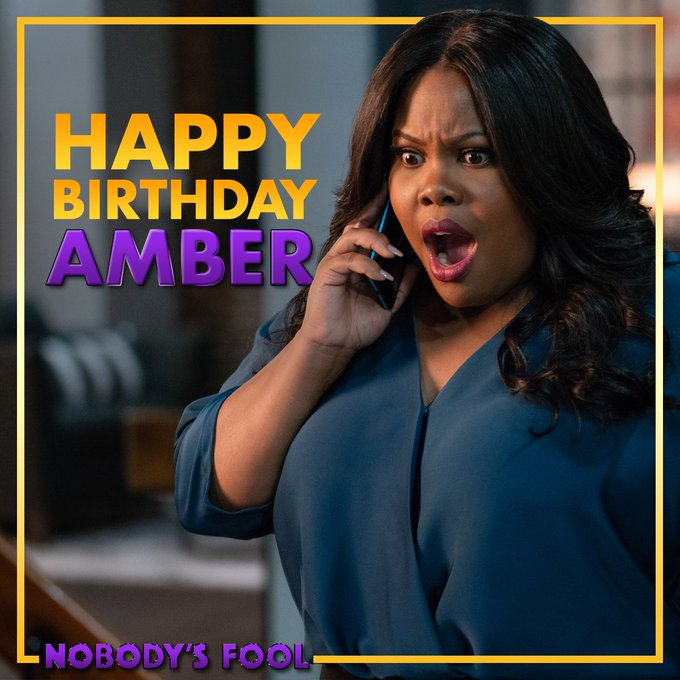 Happy birthday to our BFF Amber Riley!