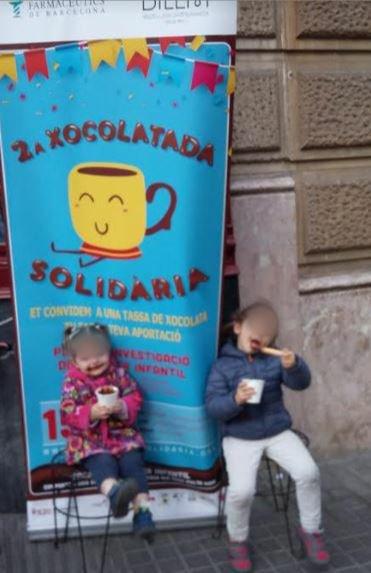 test Twitter Media - Moltes gràcies per haver-nos acompanyat aquesta tarda a tacar-nos de xocolata ☺️ pel càncer infantil, a la 2a #XocolatadaSolidària a benefici de @SJDbarcelona_es 👏👏👏 https://t.co/95kpW3B6Up