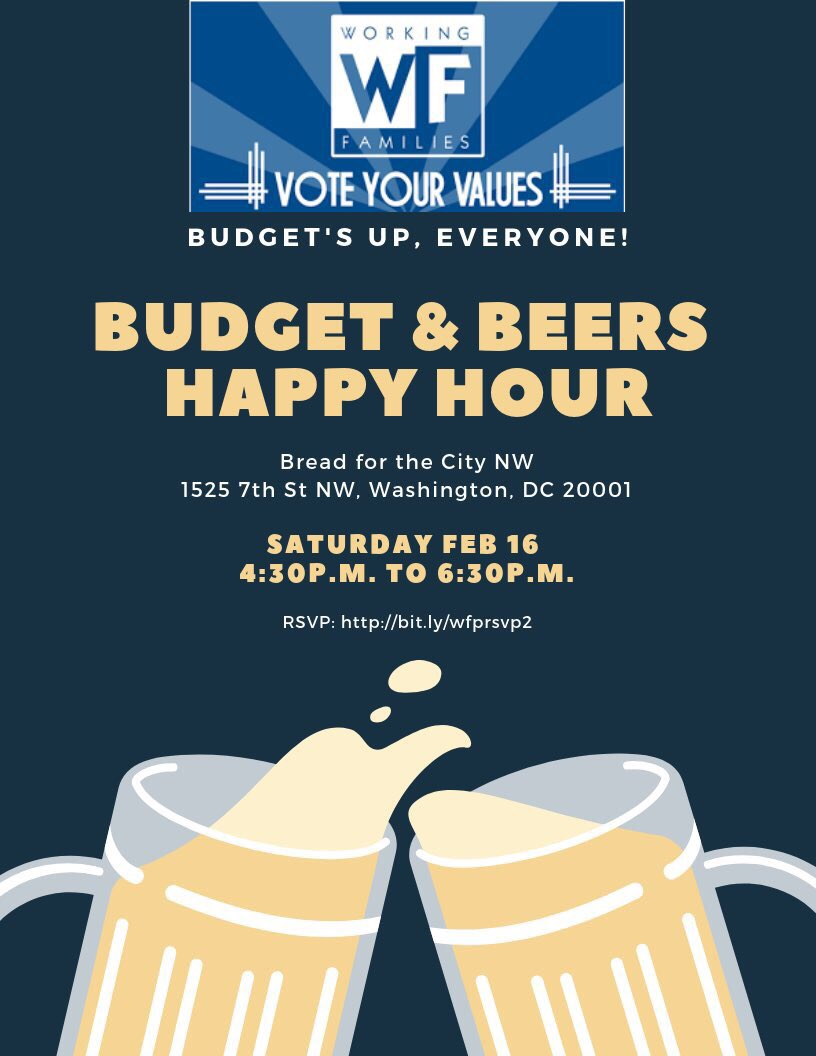 Budget & Beers Happy Hour is TOMORROW! Don't miss it.   RSVP: https://t.co/1BeP34hgVz https://t.co/DkLqidzVbY