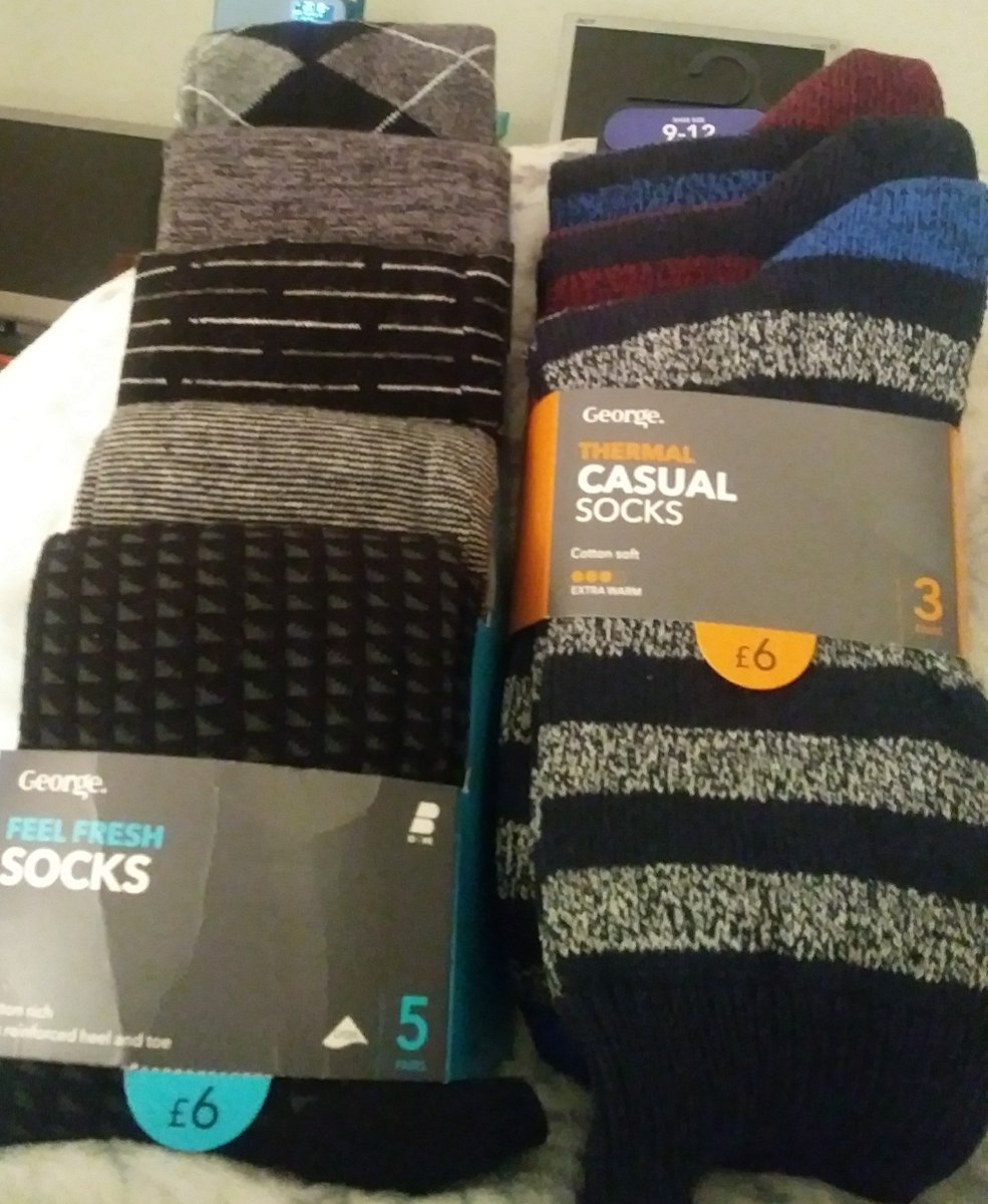 My socks and reduced price hat and gloves set from ASDA. https://t.co/slUdzatoey