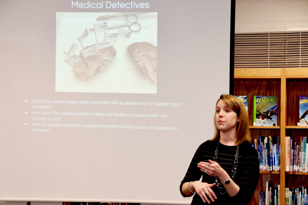 test Twitter Media - Dr. Hirsch complimented the Maple science faculty for their reputation for excellence @ the 2/14 Board meeting. Presenters: L. Kurtz, R. Dombeck, K. Leverso, & K. Obradovich (for D. Novak). Reviewed: Medical Detectives class, STEM Conference, & cool chemistry projects. #d30learns https://t.co/KXPCyW478g
