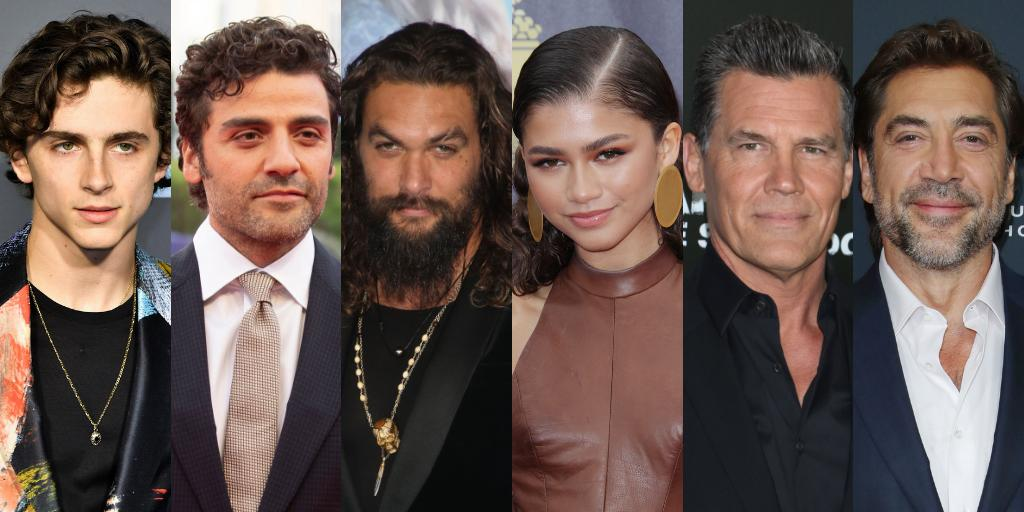 Say hello to the cast of #Dune https://t.co/mK2R2upxfb https://t.co/TPCTw4pmNo