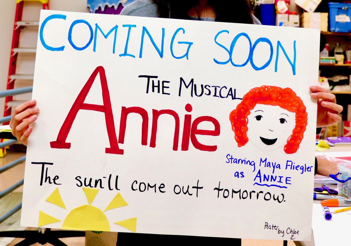 "test Twitter Media - Tickets for Maple School's Spring Musical ""Annie"" will be sold on Thursday,  February 28 and Friday, March 1, from 4:00 - 5:30 pm near the East Gym. If you are unable to purchase tickets in person, please email  Debbie Hickey at dhickey@district30.org. #d30learns https://t.co/CXQAC0Hb32"