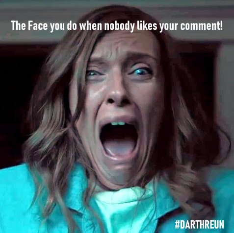 I'm so in #love with #ToniCollette i had to make a #meme with this #talented #actress! Enjoy! 😈 #Darthreun https://t.co/cM4GwJfGGx