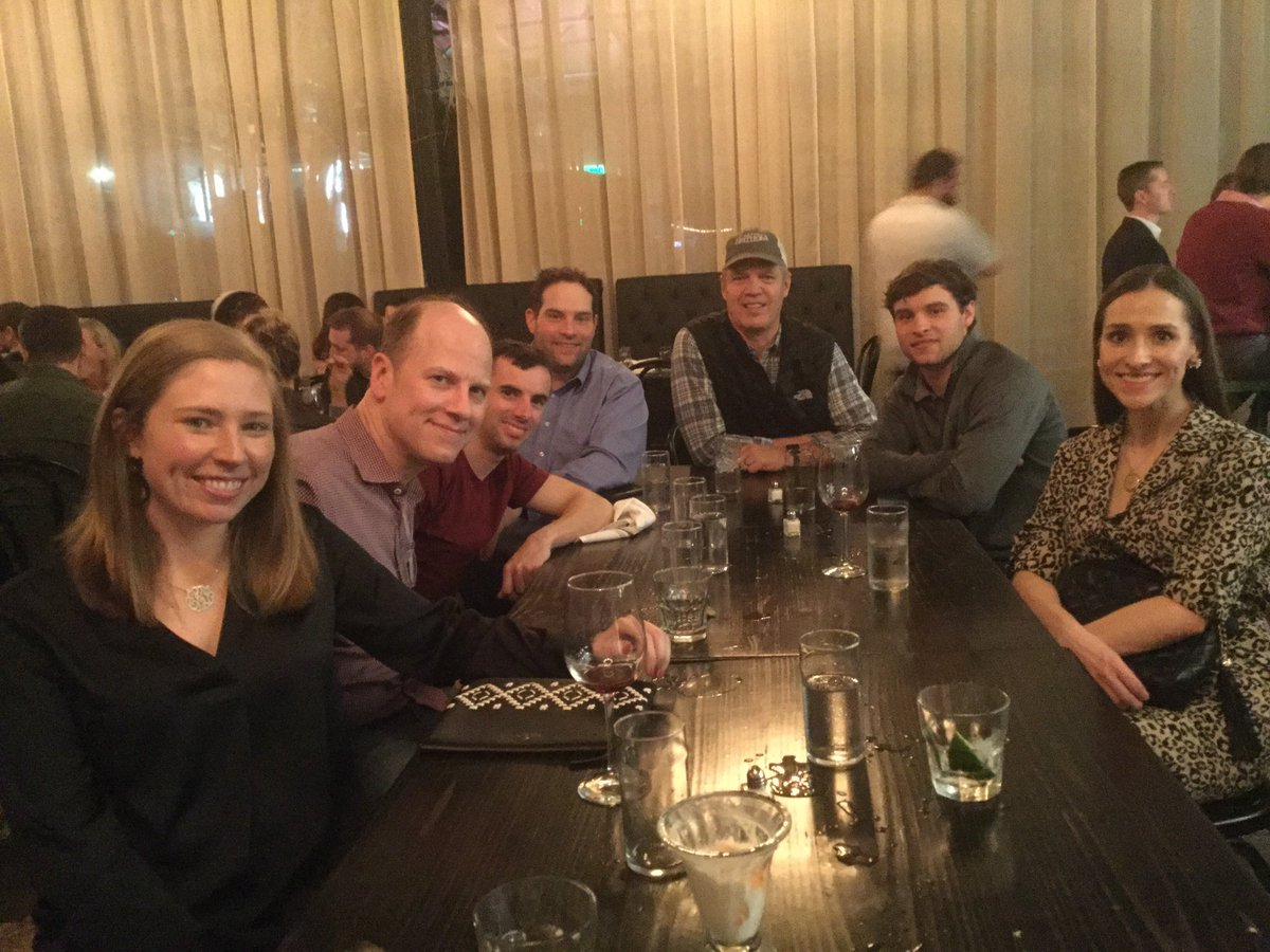 test Twitter Media - Fun crew for dinner in New Orleans ahead of a big day @fairgroundsnola tomorrow @GaryGarlington1 @chsande @flothejock @bradcoxracing team Harlan's Punch 🥊 (pictured), team Owendale on the other side (not pictured). Let's win some races tomorrow! https://t.co/53DukUrKUR