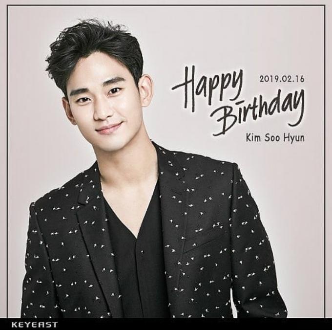 KDM happy birthday kim soo hyun