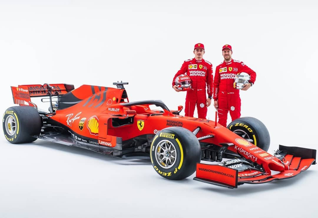 #essereFerrari