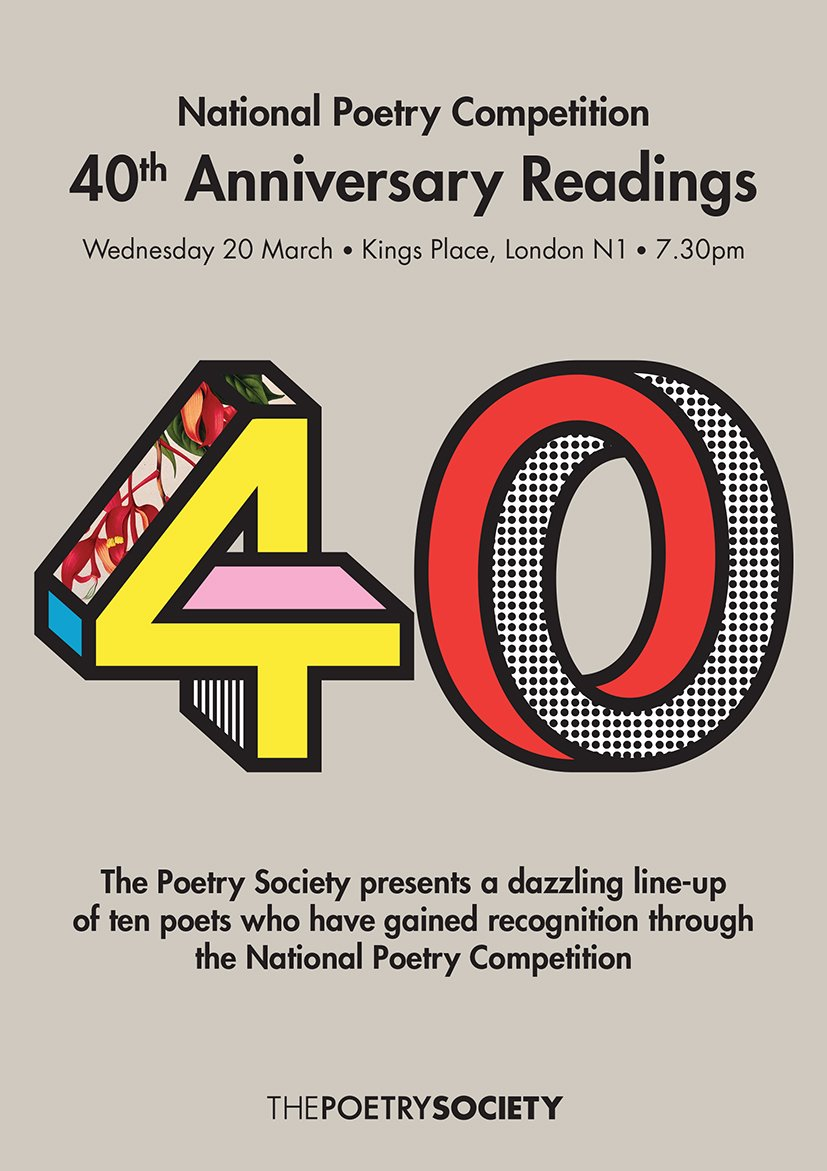 test Twitter Media - 32 days to go until the 40th anniversary event for the National Poetry Competition   Read a new poem by poet Geraldine Clarkson @GBClarkson from the latest Poetry @PoetryFound https://t.co/95eWtQdX65   20th March, Kings Place https://t.co/CAyQRnXQtA https://t.co/nUePOOvQA9