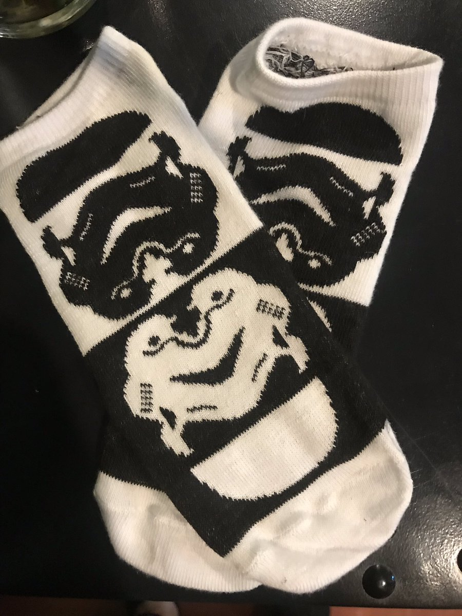 Stormtrooper yin and yang.   Campaign socks Day 10. #MaytheFourth #Laird4Council https://t.co/23WMPcPJU0