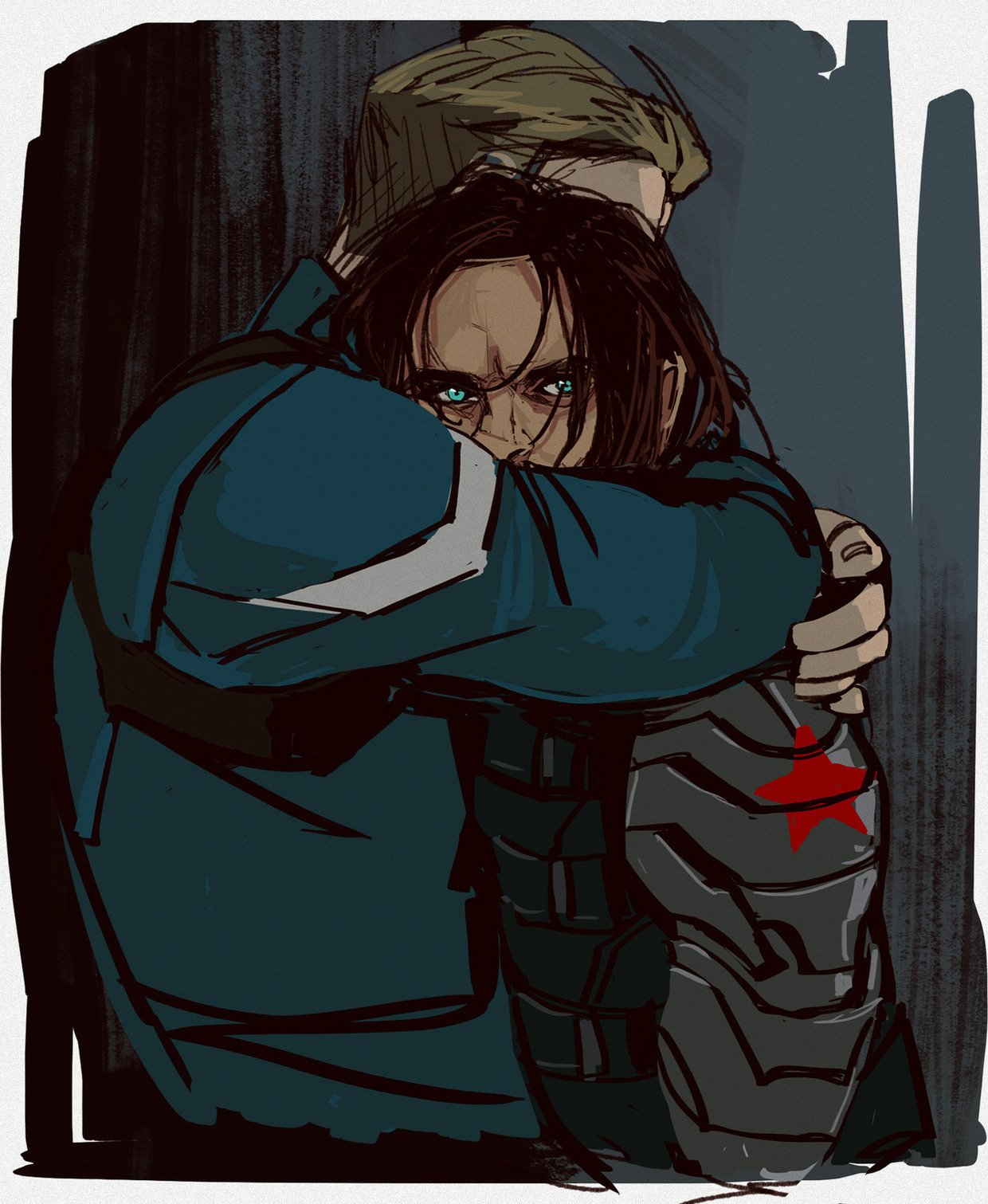 RT @Orientalld: Haven't post this here. I think (You should apologize if I double or triple post, coz I dont remember what where and when I post)  #stucky  #SteveRogers  #BuckyBarnes https://t.co/8UhfBCKsFs