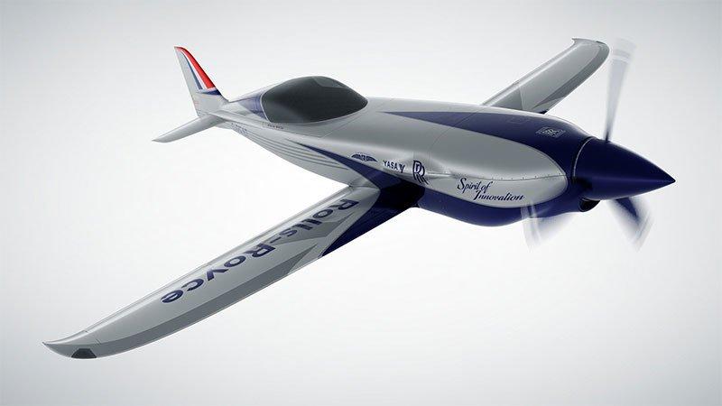 .@RollsRoyce trabaja en un veloz #avión eléctrico. https://t.co/pYB4H62GB9 https://t.co/zrGkTaATTU