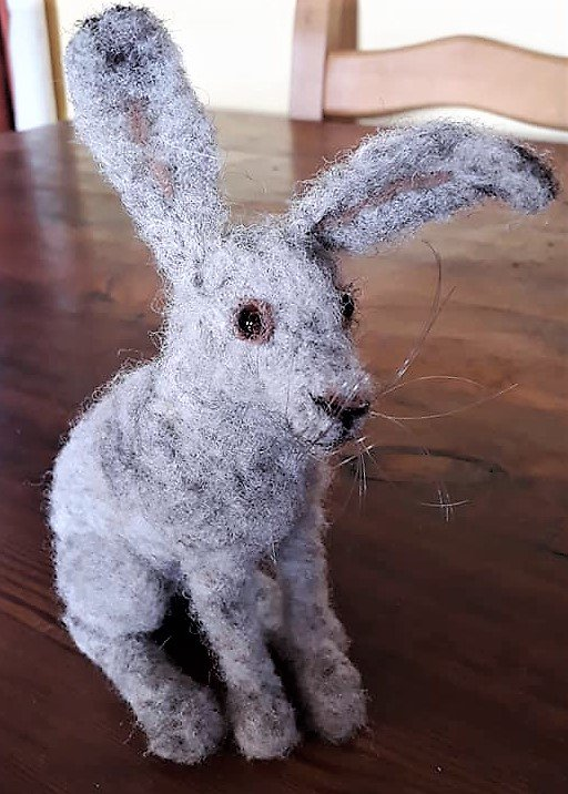 Image for Create your very own adorable felt Mad March Hare on Sue Wilson's needlefelting workshop. Suitable for beginners and experienced needlefelters alike. Friday 15th March 11am - 4pm. £50. Book via email hello@bleddfacentre.org or call 01547 550 377 #crafts #art #Powys #MidWales https://t.co/QGKJ7H1DUF