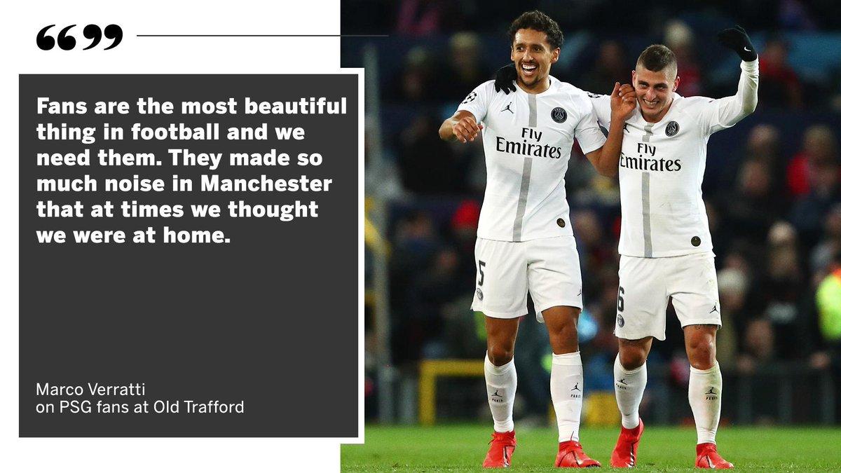 RT @ESPNUK: Marco Verratti thanks PSG fans 👏 https://t.co/lgBfAqZFoI