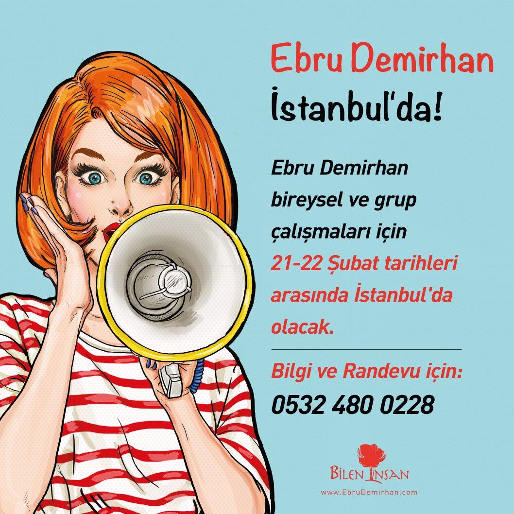 Ebru Demirhan İstanbul'da!  #ebrudemirhan #yasamtasarimmerkezi #bileninsan https://t.co/qVgGnNXeHb