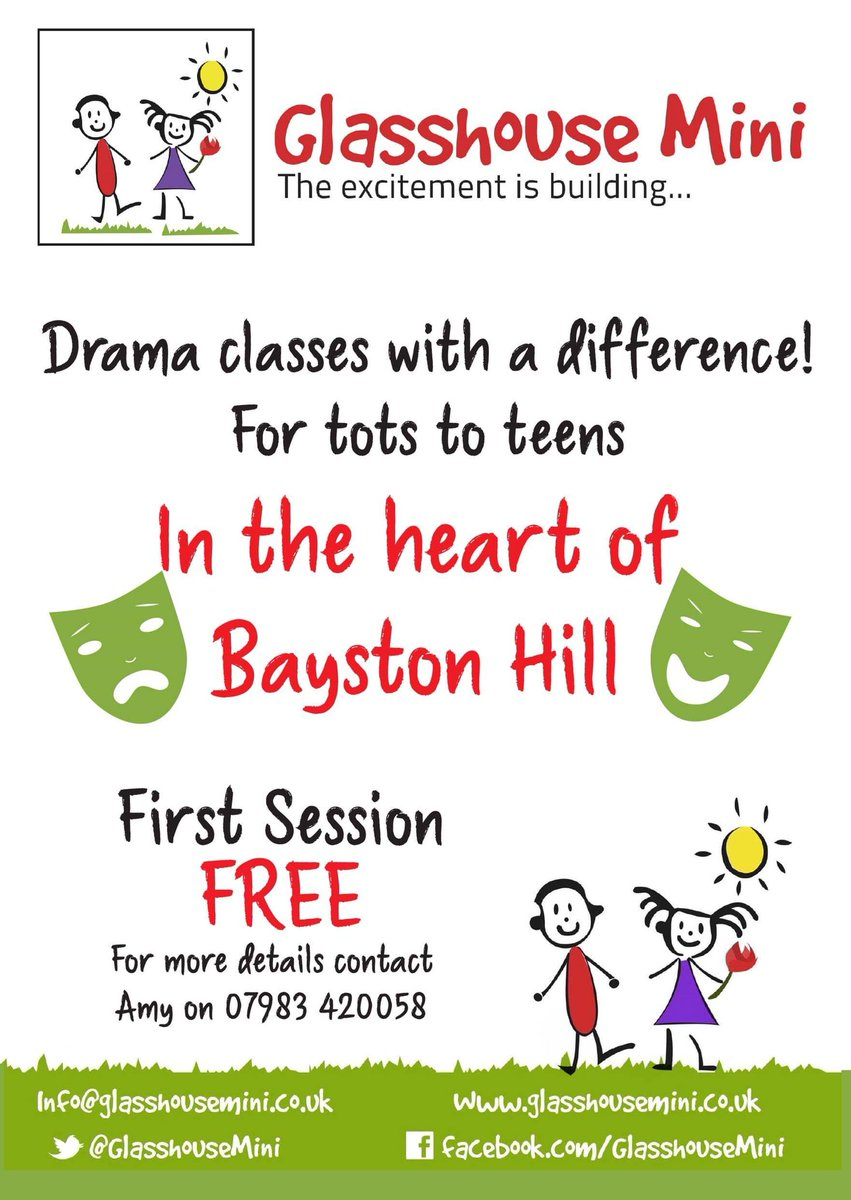 test Twitter Media - #GlasshouseMini #drama coming to #BaystonHill Get in touch for more info! @BaystonHillMeth @BaystonHillNet https://t.co/CSGcku6q8v
