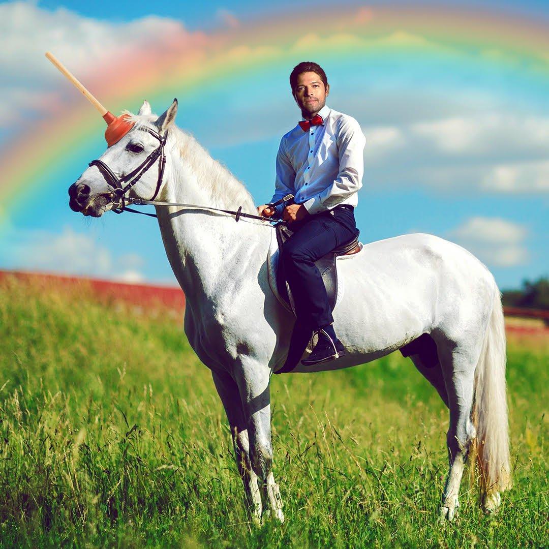 RT @mishacollins: On Tuesday, we save the unicorns. Saddle up! https://t.co/V9t6ztPw1h