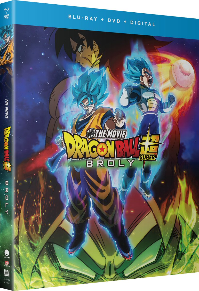 test Twitter Media - 🗣It's official: #DBSuperBroly hits Blu-ray, DVD & Digital on 🔥4/16! 🔥  ✔ Tons of extras ➕Funimation Shop exclusive: Goku Arctic Gear desk standee:  https://t.co/D56T4BFfni https://t.co/wFP98YAcBg