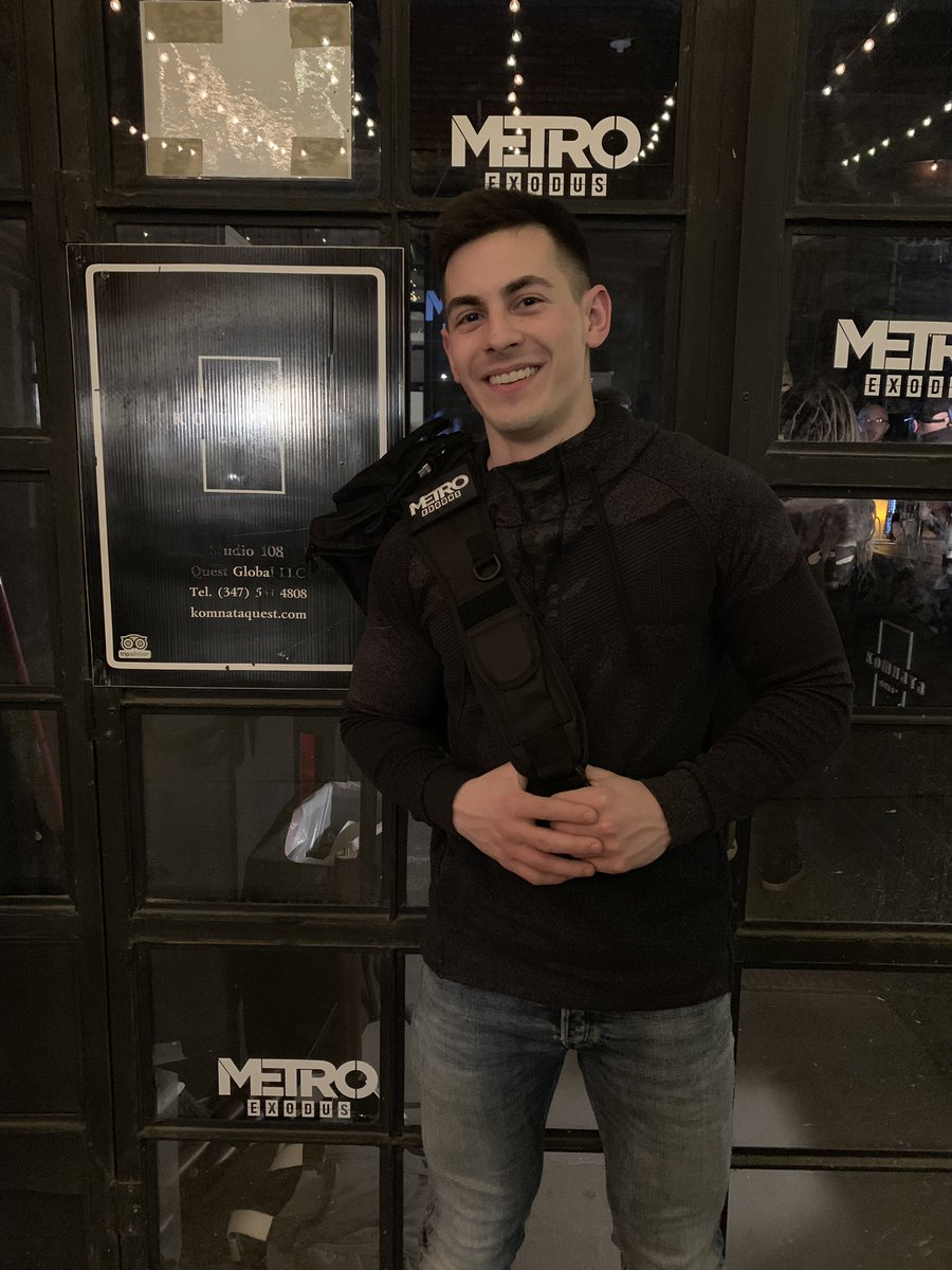 RT @Censor: Had the chance to experience an escape...