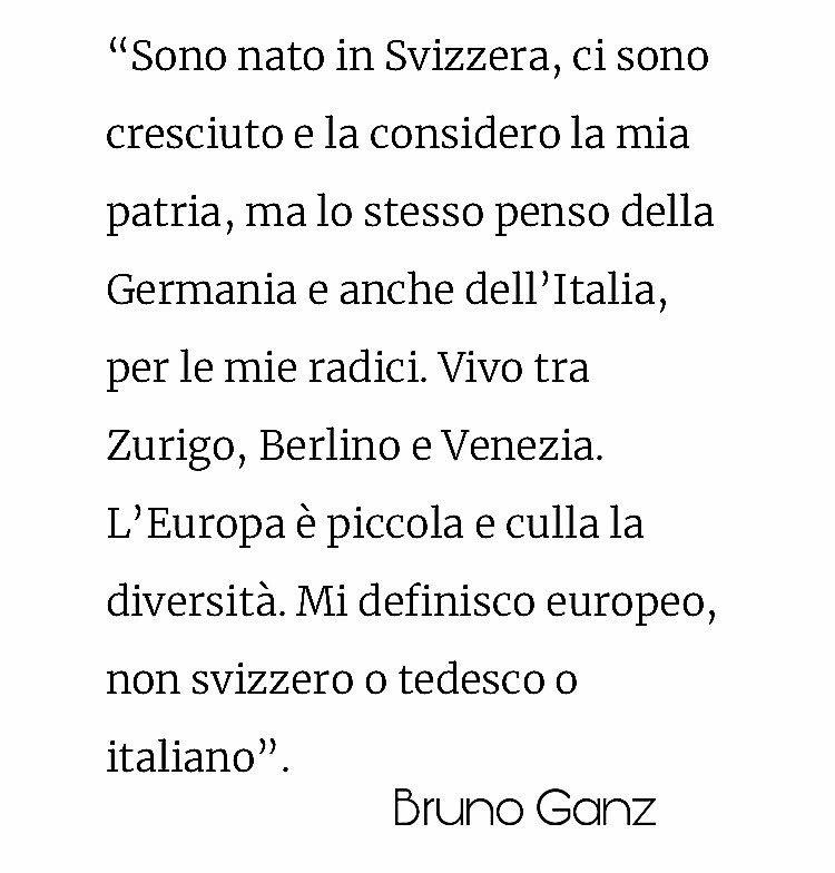 #BrunoGanz