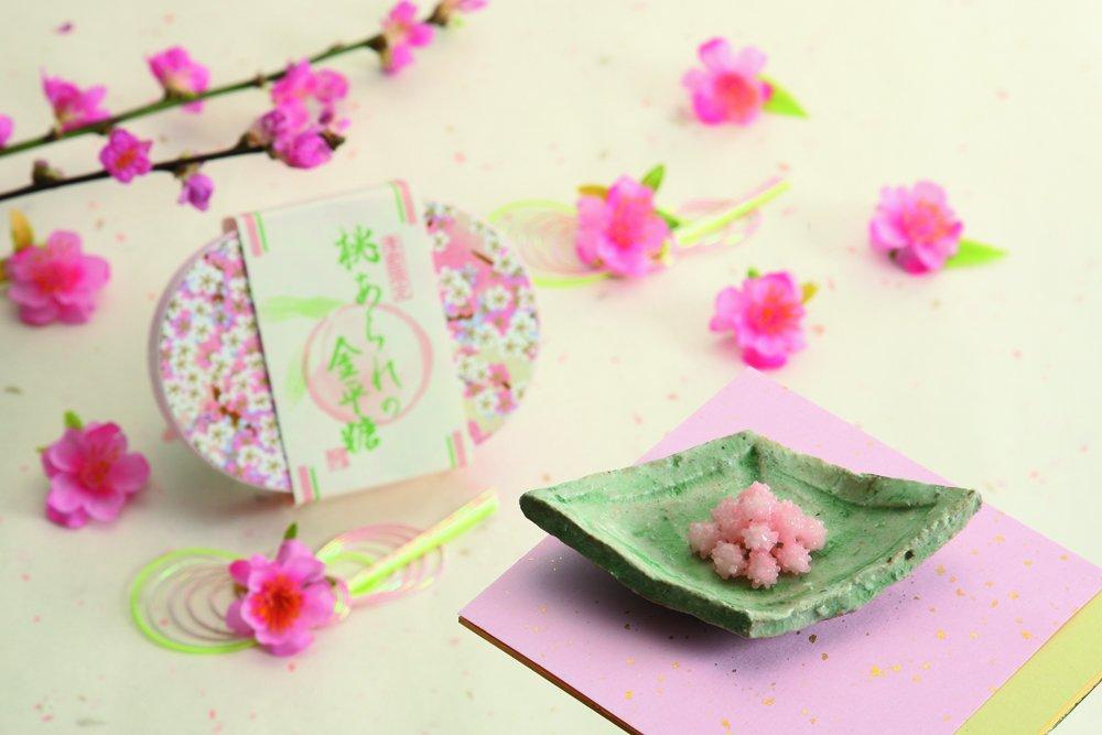 test ツイッターメディア - こんにちは!ロビンです^^今日は #双裳会 のおたのしみ、美味しいものを中心にご紹介します。まずは春らしいお菓子から!京都緑寿庵清水の桃あられの金平糖・クラブハリエのパズルのようなホワイトブラウニー・そして明治時代より愛される #茂助団子 は地下1階食品売り場です!ロビン #tokyu_dept https://t.co/LBPgx6Nuyy
