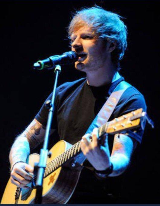 Happy 28th birthday Ed Sheeran. Legend