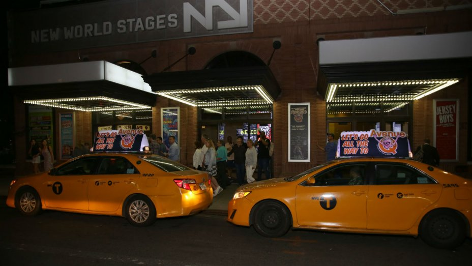 N.Y.'s New World Stages evacuated due to manhole fires
