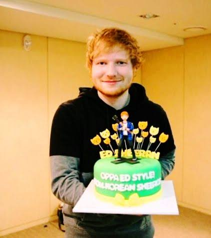 """Happy Birthday Perfect , Dive. - Ed Sheeran \""""I\m in love with the shape of you\"""" 2 8"""