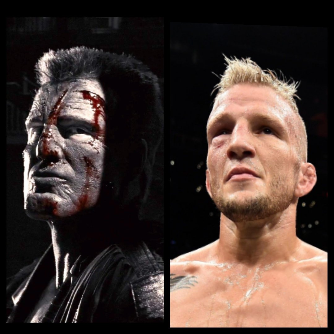 I think people forget who TJ's dad is. Tough AF due to his #DNA #ufc #dillashaw #tj #mma https://t.co/fEgmXN6DIg