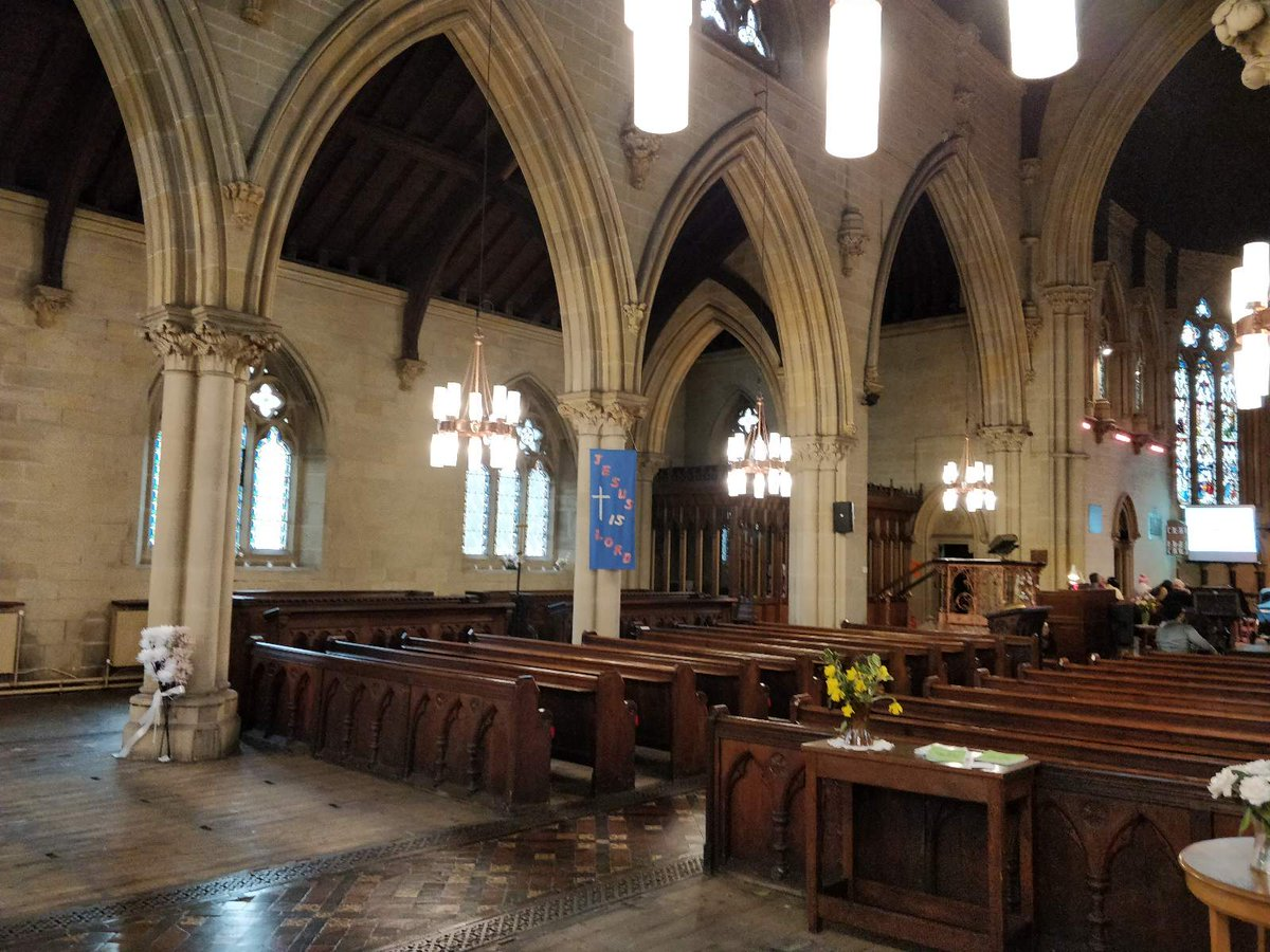 All Saints, Bradford, Yorkshire West Riding. Interior. https://t.co/IlmY0ftgNV