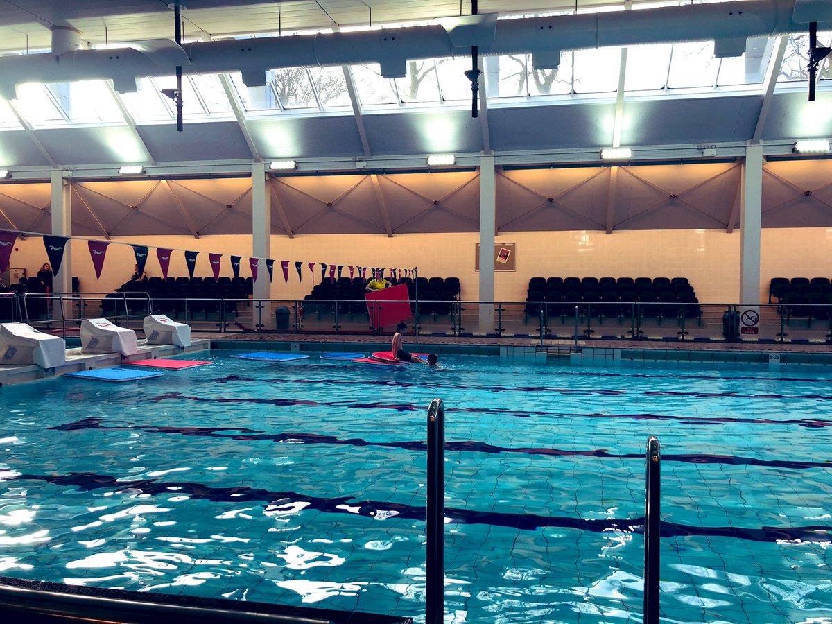 Sunday morning swimming. Pool to themselves. /cc @angusbradford @nrbradford https://t.co/tLF1UWGn2D