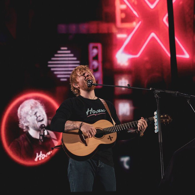 HAPPY BIRTHDAY ED SHEERAN  Thanks for the music that makes the heart beat more often