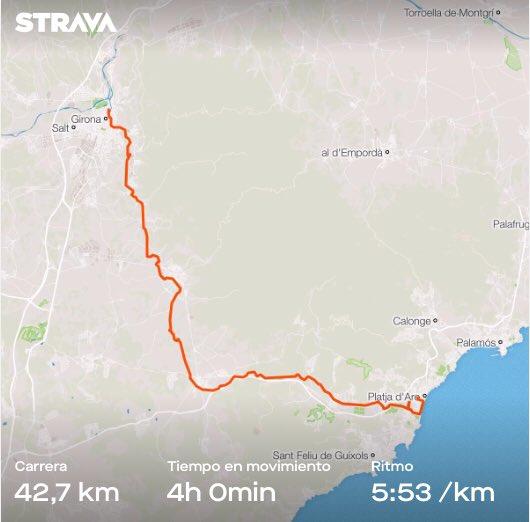 Imagen Marató de les Vies Verdes: Girona
