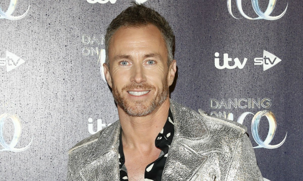 James Jordan in agony after Dancing on Ice injury...