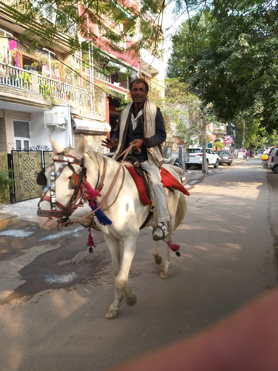 Horseman near the market... https://t.co/zOtqXW5U4Q