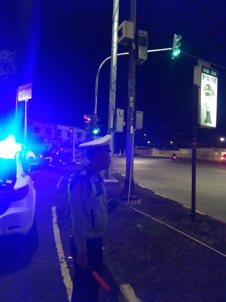 23.43 Strong point guna mencegah gangguan kamtibmas di TL Bundaran Senayan