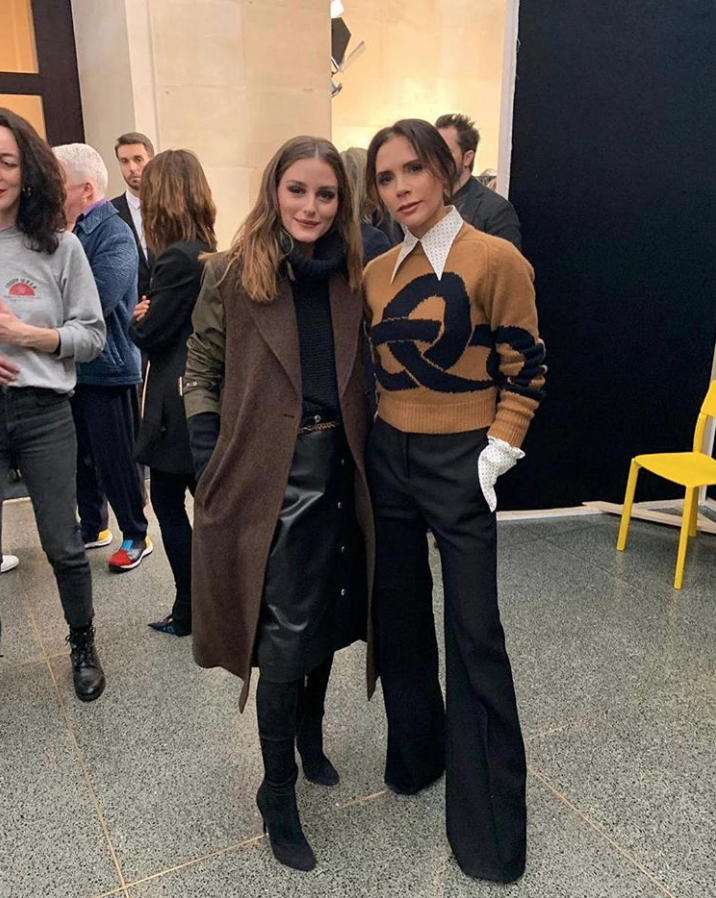 Loved seeing @OliviaPalermo at #VBAW19 in my next Pre collection x Kisses https://t.co/9e9LXuD9F1
